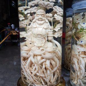 Tại sao nên mua bình Đinh Lăng điêu khắc